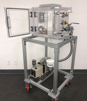 medical device leak testing chamber