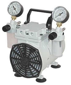 Wob-L Pressure and Vacuum Dry Pump, 230V 50Hz 1Ph, with CE mark, 100 Torr at 0.75 CFM